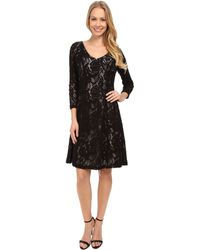 NYDJ - Amelia All Over Lace Dress - Lyst