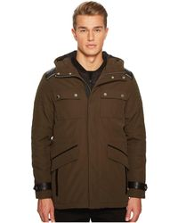 The Kooples - Parka With Crossed Topstitching - Lyst