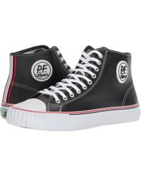 PF Flyers - Center Hi Leather - Lyst