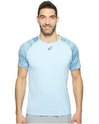 Asics - Tennis Club Challenger Gpx Top - Lyst