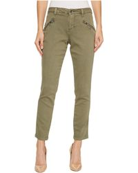 Jag Jeans - Ryan Skinny Colored Knit Denim In Silver Pine - Lyst
