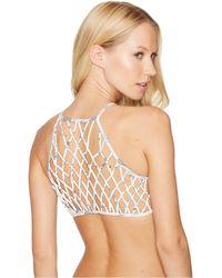 O'neill Sportswear - Delany Macrame Halter Top - Lyst