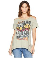 Double D Ranchwear Southern Jam Top (double Platinum) Clothing