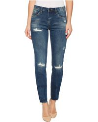Blank NYC - Distressed Skinny In High Dive - Lyst