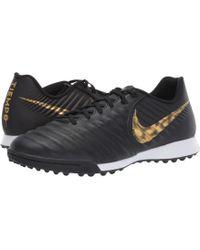 985bd58c7 Nike Tiempo Genio Ii Leather Tf White black Total Orange Turf Soccer ...