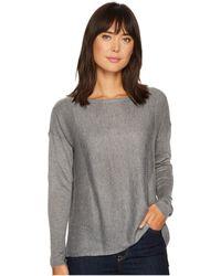 NYDJ - Boat Neck Sweater W/ Split Back - Lyst