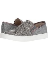 b3518c4a628 Lyst - Steve Madden Excreux Women Us 6.5 Silver Loafer