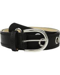 Steve Madden - Belt With Grommets - Lyst