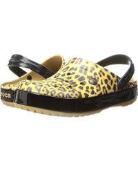 Crocs™ - Crocband Leopard Ii Clog - Lyst