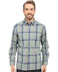 Mountain Khakis - Ace Indigo Long Sleeve Shirt - Lyst