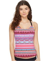 Next By Athena - Body Renewal Third Eye 2 Tankini Top - Lyst