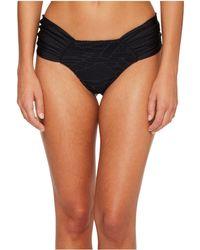 005f277ce8 Luli Fama - El Carnaval Scrunch Brazilian Ruched Back Bikini Bottom - Lyst