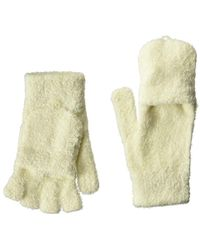 Steve Madden - Solid Magic Tailgate Itouch Gloves (ivory) Extreme Cold Weather Gloves - Lyst