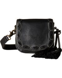 Frye - Cut Out Mini Saddle - Lyst