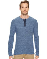 Lucky Brand - Lived In Thermal Henley - Lyst