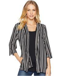 Angie - Stripe Blazer - Lyst