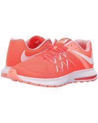 size 40 43040 4cfa0 Nike - Zoom Winflo 3 (bright Crimson white atomic Pink white)