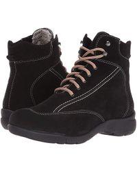 c4935d4a59f La Canadienne Trista (black Suede/cozy) Lace-up Boots