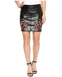 89a3ee455 IRO Mhalan Stretch-crepe Miniskirt in Black - Lyst