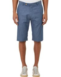 Brooklyn Tailors Pin-dot Cuffed Shorts - Lyst