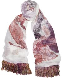 Chloé  House Of Voltaire Silk-jacquard Scarf - Lyst