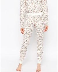 Cath Kidston | Bramley Sprig Nightwear Leggings | Lyst