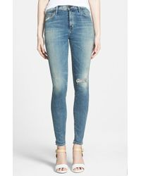 Citizens of Humanity 'Rocket' High Rise Skinny Jeans - Lyst