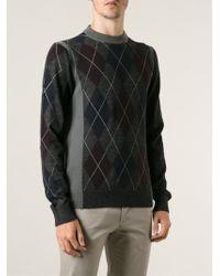 Lanvin Slim Fit Sweater - Lyst