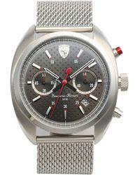 Scuderia Ferrari - 'formula Sportiva' Chronograph Mesh Strap Watch - Lyst