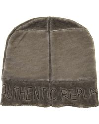 Replay Cotton Cap - Lyst