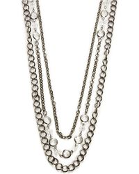 Catherine Stein - Faceted Bead Layer Necklace - Lyst