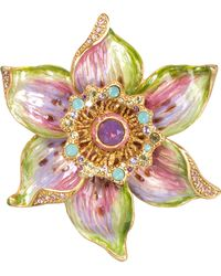 Jay Strongwater - Sonia Daffodil Pin - Lyst