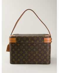 Louis Vuitton Square Body Beauty Case - Brown