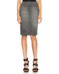 Nsf Clothing Pencil Cotton-blend Skirt - Lyst