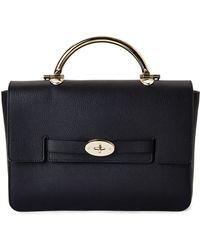 Mulberry Black Bayswater Handbag - Lyst