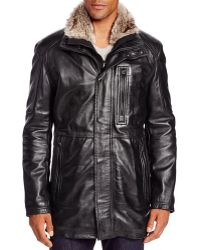 Marc New York - Stuyvesant Leather Field Jacket - Lyst