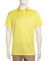 J. Lindeberg Shortsleeve Golf Shirt - Lyst