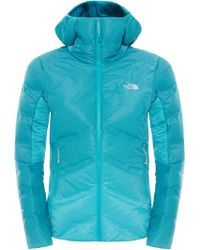 The North Face Fuseform Dot Matrix Hooded Down Women's Jacket - Blue