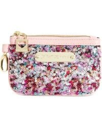 Betsey Johnson Exclusive Coin Pouch - Lyst