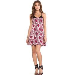 Thakoon Addition Flared Skirt Cami Dress - Lyst