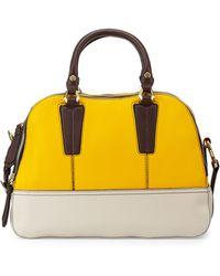 orYANY Leslie Colorblock Satchel Bag multicolor - Lyst