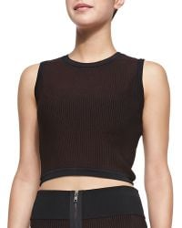 A.L.C. Cluney Striped Sleeveless Top - Lyst