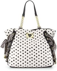 Betsey Johnson Mix-N-Match Tote Bag - Lyst