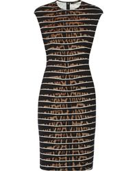 Roberto Cavalli Printed Stretchjersey Dress - Lyst