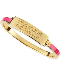 Marc By Marc Jacobs Enamel Standard Supply Bangle - Lyst