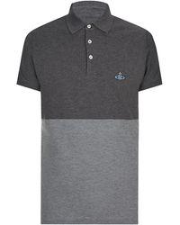 Vivienne Westwood Colour Block Polo Shirt - Lyst