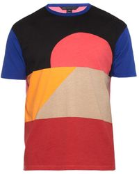 Marc By Marc Jacobs Dune Colorblocked Cotton T-Shirt - Lyst