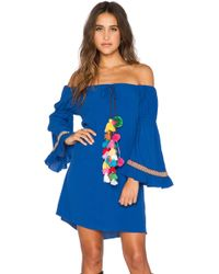 T-bags - Tulum Off-The-Shoulder Dress - Lyst