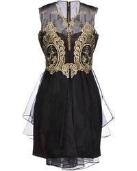 Notte By Marchesa Short Dress - Lyst