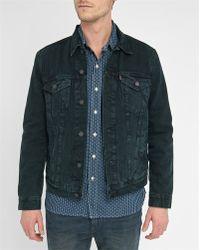 Levi's | Blue Shelter Pr Trucker Jacket | Lyst